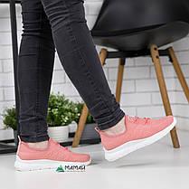 Кросівки жіночі рожеві сітка 38р, фото 3
