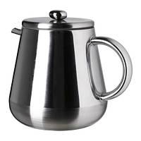"""IKEA """"АНРИК"""" Кофе-пресс/заварочный чайник, нержавеющ сталь"""