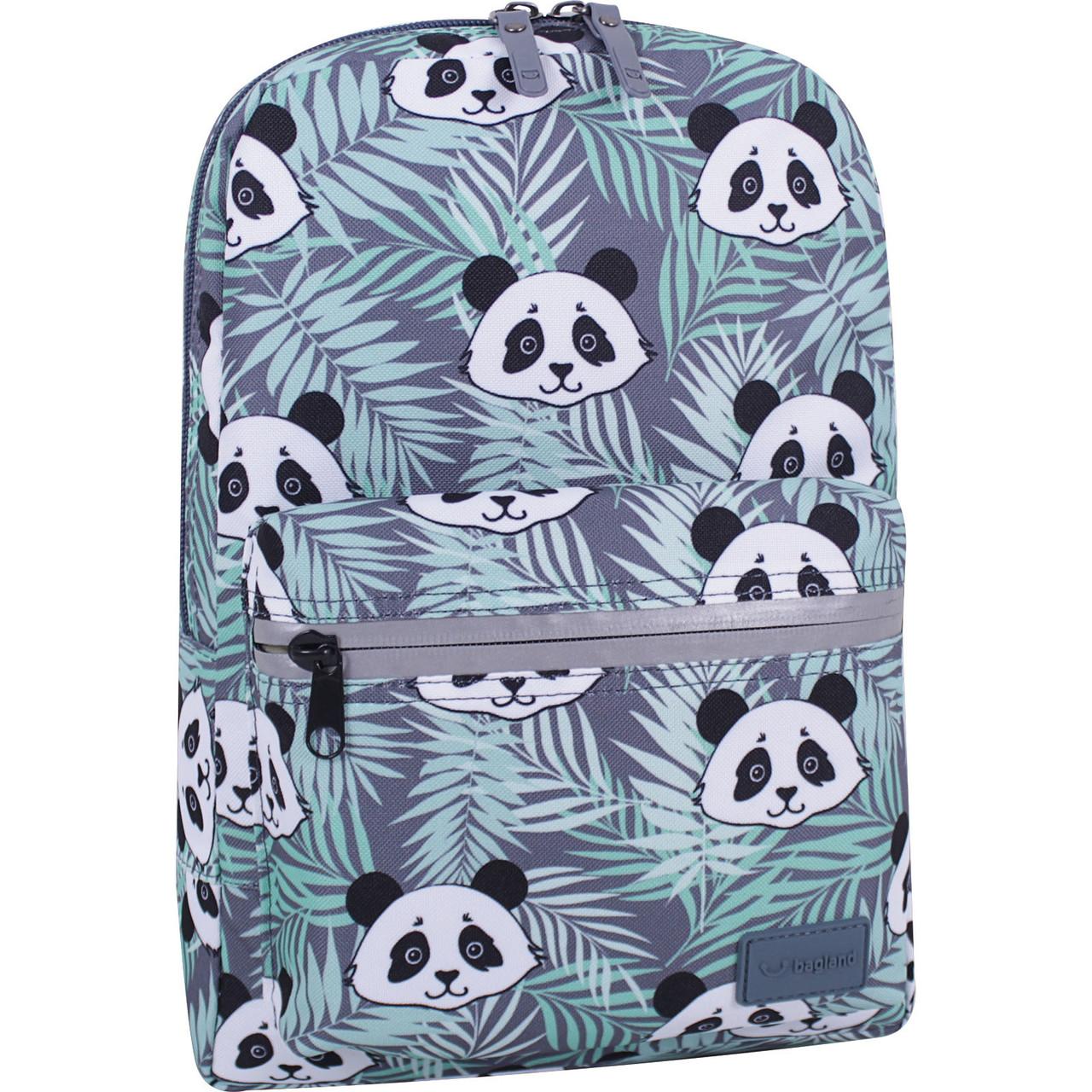 Рюкзак для дівчинки молодіжний міський модний принт Панда Bagland 764 (00508664)