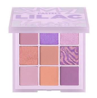 Палетка теней HUDA BEAUTY Pastel Obsessions Eyeshadow Palette Lilac 10 г