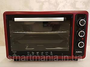 Духовка электрическая печь ASEL AF-40-23  Red 40L 1300W