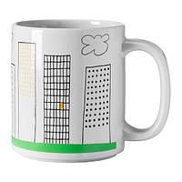 """IKEA """"ОНСКЕДРОМ"""" Кружка, с рисунком"""