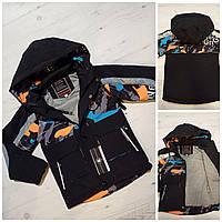 """Куртка дитяча демісезонна з принтом на хлопчика 104-128 см (3 цв) """"MALIBU"""" недорого від прямого постачальника"""