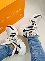 Модные женские кроссовки LOUIS VUITTON ARCHLIGHT (реплика)