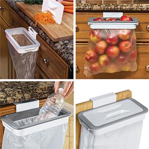Мусорное ведро Attach-A-Trash подвесной держатель мешка для мусора  с крышкой кухонный контейнер для мусора