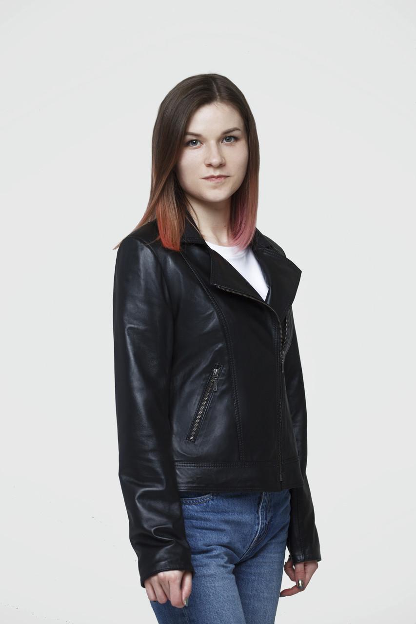 Куртка шкіряна косуха жіноча TINA розмір L