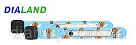 Детский браслет НЕПОТЕРЯЙКА для малышей с номером телефона мамы (воздушные шары)
