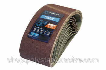 Лента шлифовальная бесконечная Polystar Abrasive 75х533 мм P120