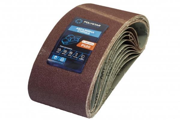 Лента шлифовальная бесконечная Polystar Abrasive 100х610 мм P120