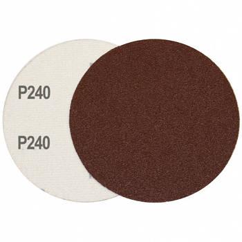 Круг шліфувальний на липучці Velcro Polystar Abrasive 125 мм, P240