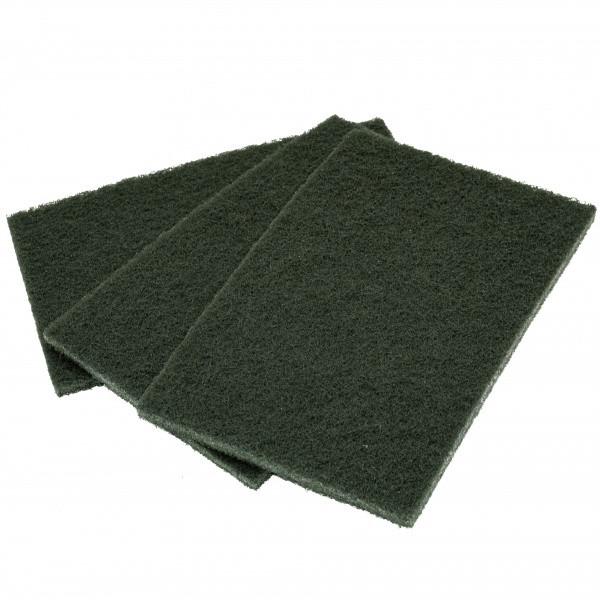 Скотч брайт лист 150*230 мм Р600 зелений