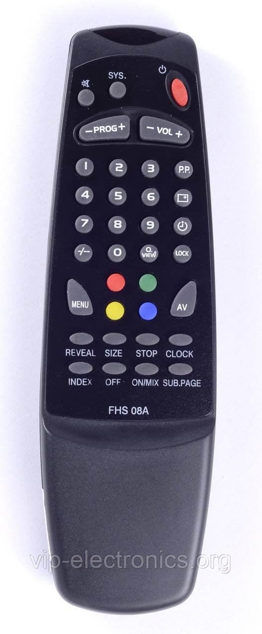 Пульт Erisson  FHS-08A (TV) як оригінал