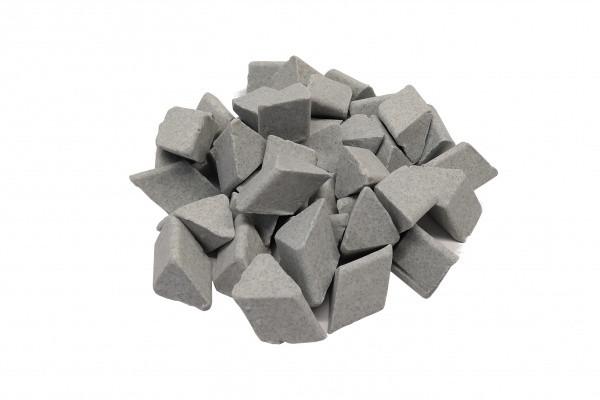 Галтувальні тіла (наповнювач для галтовки) керамічні ERBA TRT 15 (скошений трикутник)