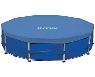 Intex 28030 тент для каркасного басейну 305 см