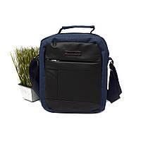 Мужская сумка кросс-боди полиэстер синяя Арт.8822 blue Nuoxiya (Китай)