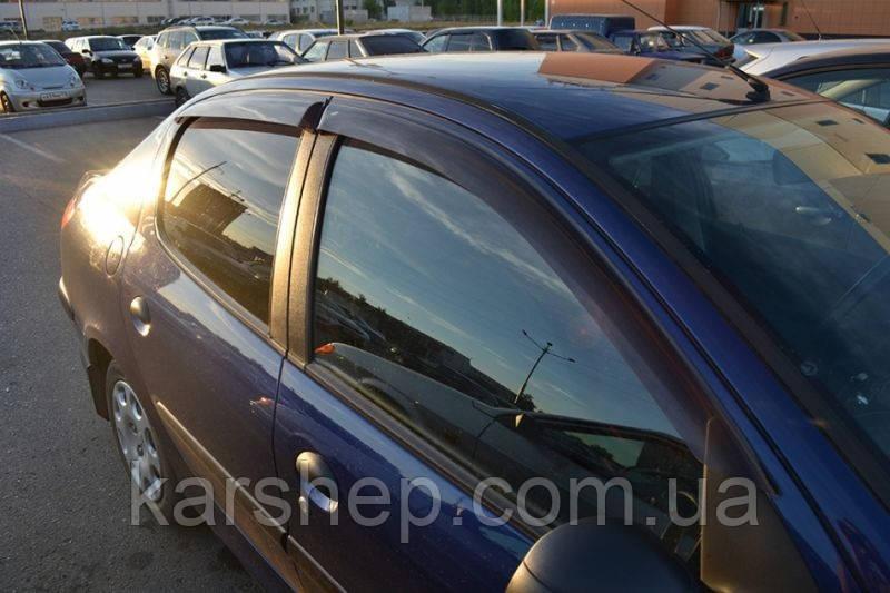 Ветровики на Peugeot 206 Sd 2005/Hb 5d 1998