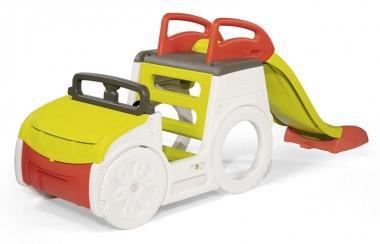 Дитячий ігровий комплекс для дачі з гіркою і пісочницею, Smoby