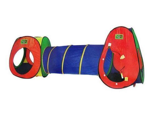 Палатка для детей домик с тоннелем 3 в 1