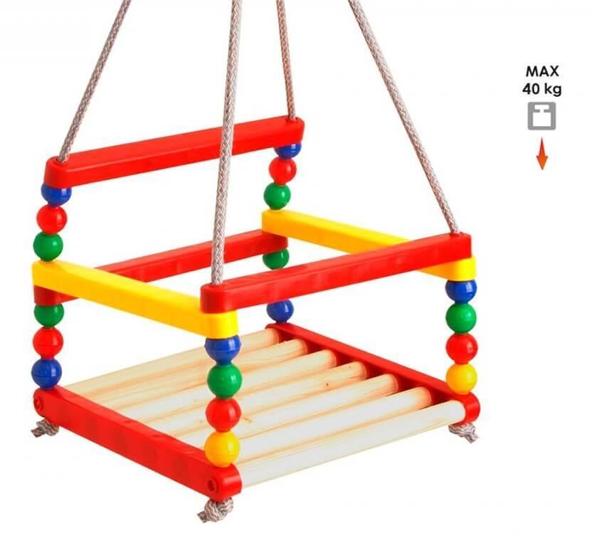 Детская качеля подвесная для квартиры, ТехноК, 0045