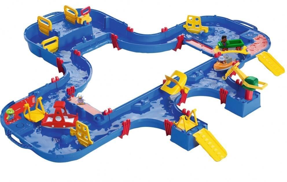 Ігровий набір для ігор з водою, Подорож на поромі, з краном, 150х160 см, Аква Плей