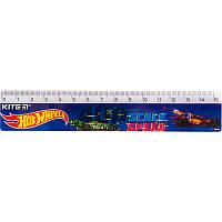 Линейка пластиковая Kite Hot Wheels HW19-090, 15 см