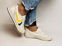 Nadi Bella. Жіночі кеди-білі кросівки. Натуральна шкіра. Розмір 36.37.38.40 Vellena, фото 5