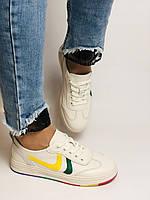 Nadi Bella. Жіночі кеди-білі кросівки. Натуральна шкіра. Розмір 36.37.38.40 Vellena, фото 4