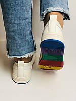 Nadi Bella. Жіночі кеди-білі кросівки. Натуральна шкіра. Розмір 36.37.38.40 Vellena, фото 8