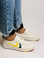 Nadi Bella. Жіночі кеди-білі кросівки. Натуральна шкіра. Розмір 36.37.38.40 Vellena, фото 2