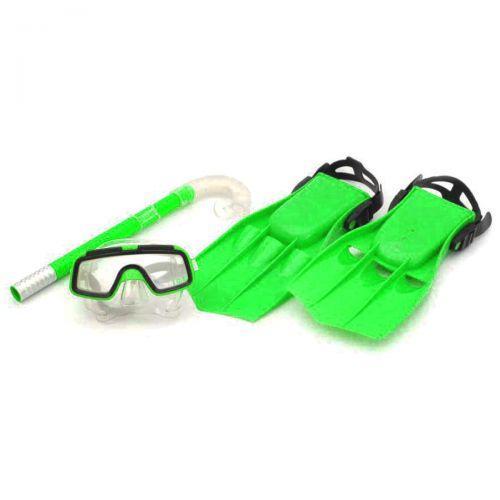 Дитячий набір для пірнання, маска,ласти,трубка), Розмір:34-38