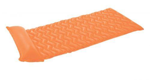 Матрас для плавания, волнистый (оранжевый), Интекс