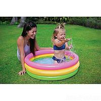 Басейн для младенца интекс, Маленькие детские надувные бассейны, Intex