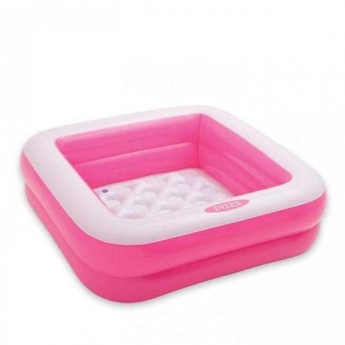Басейн детский надувной, (розовый), Intex