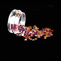 Діаманти Луска дракона Рожевий 3*3