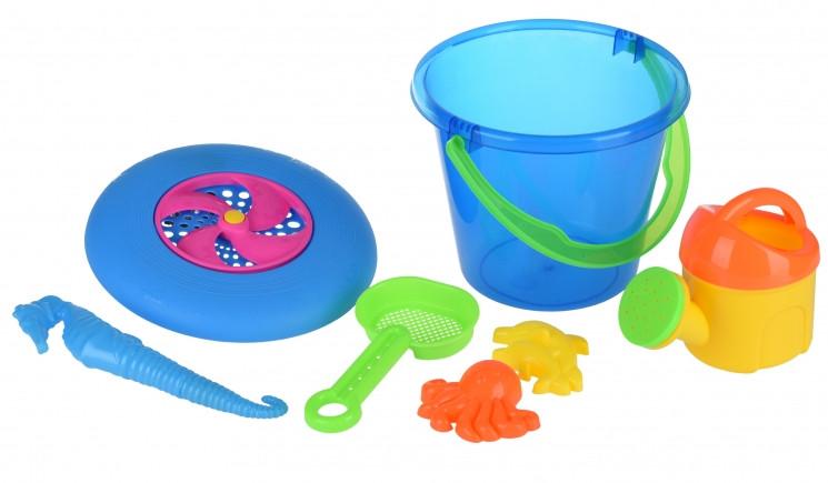 Набор для песочницы с летающей тарелкой, Same Toy