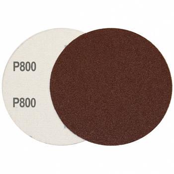 Круг шліфувальний на липучці Velcro Polystar Abrasive 125 мм, P800