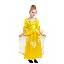Детский карнавальный костюм БЕЛЛЬ из КРАСАВИЦА И ЧУДОВИЩЕ для девочки 4,5,6,7,8,9 лет костюм ПРИНЦЕССЫ
