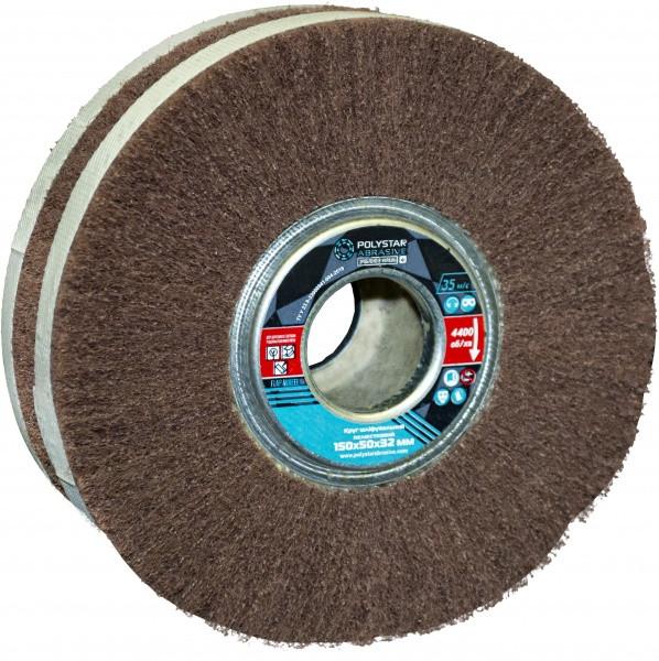 Скотч-брайт круг шліфувальний пелюстковий КШЛ 150х50х32 мм, P240