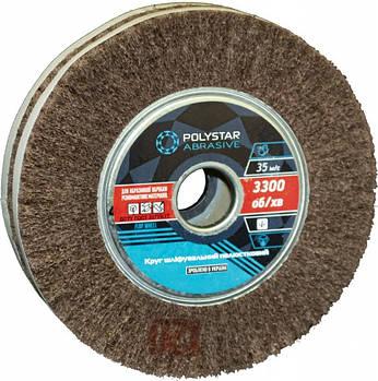 Скотч-брайт круг шлифовальный лепестковый КШЛ 200х50х32 мм, P120