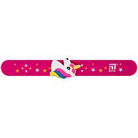 Линейка-браслет Kite K20-018, с фигуркой 15 см, розовая