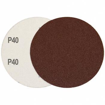 Круг шліфувальний на липучці Velcro Polystar Abrasive 125 мм, P40