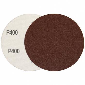 Круг шлифовальный на липучке Velcro Polystar Abrasive 125 мм, P400