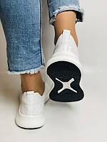 Evromoda.Женские белые кеды- кроссовки. Натуральная кожа. Размер 36,38,39.40, фото 8