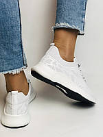 Evromoda.Женские белые кеды- кроссовки. Натуральная кожа. Размер 36,38,39.40, фото 10