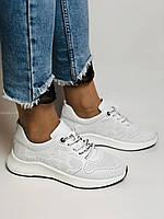 Evromoda.Женские белые кеды- кроссовки. Натуральная кожа. Размер 36,38,39.40, фото 9