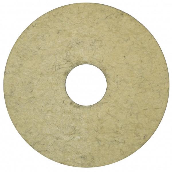 Круг полірувальний повстяний 125х40х32 (китайська шерсть)