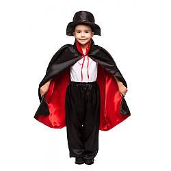 Карнавальный костюм ФОКУСНИК, ВАМПИР, ДРАКУЛА для мальчика 4,5,6,7,8,9 лет, детский костюм ФОКУСНИКА ВАМПИРА