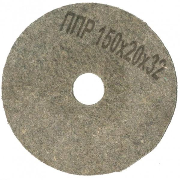 Круг полірувальний повстяний Polystar Abrasive ППР 150х20х32