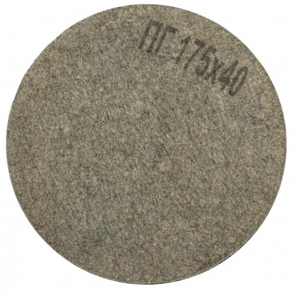Круг полировальный войлочный Polystar Abrasive ПГ 175х40