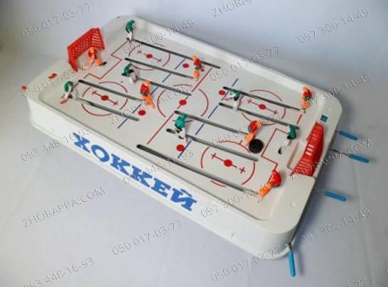 Настольные игры Хоккей JT 0701 на штангах, на ножках (5,5 см),51-28-15 см Детские игры Подарок малышу , фото 2